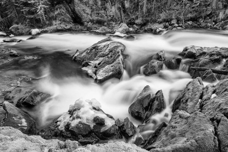 Benham Falls Rocks