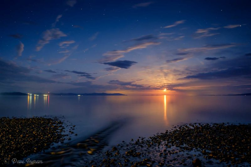 Point Holmes Moonrise #11
