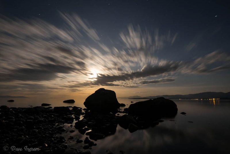 Point Holmes Moonrise #2