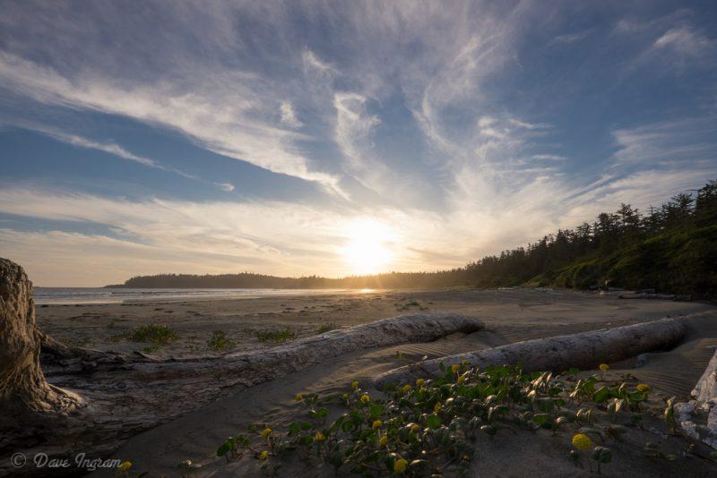 Sun Setting at Schooner Cove