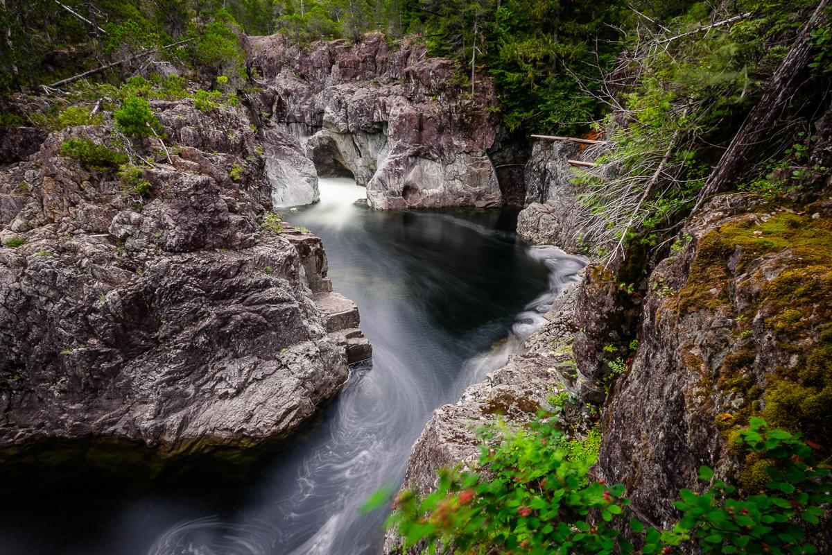 kennedy river canyon