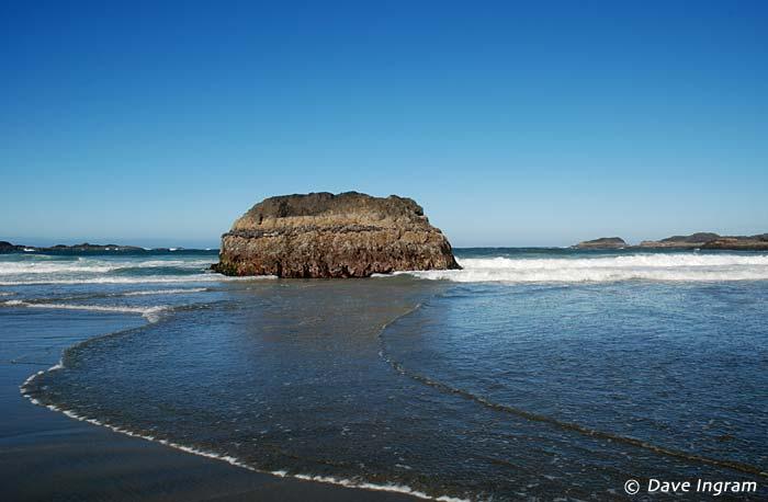 A Small Rocky Island at Radar Hill Beach