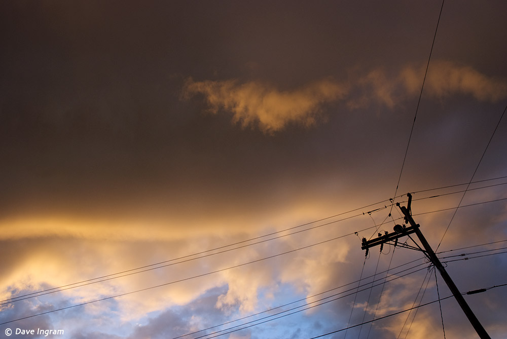 Clouds and Wire #1