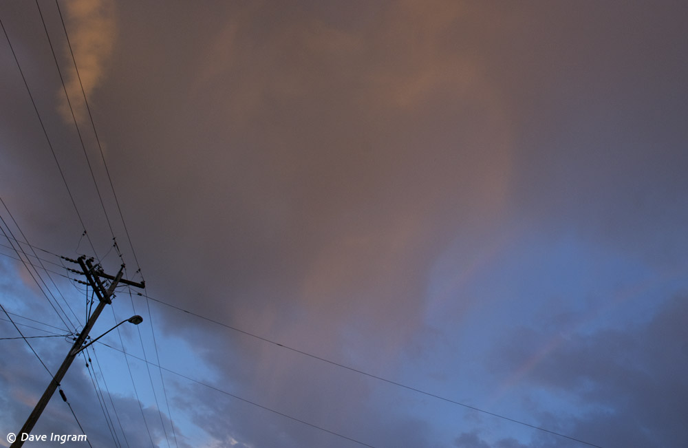 Clouds and Wire #2