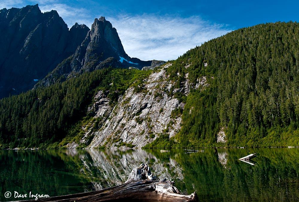 Landslide Lake Vancouver Island Bc