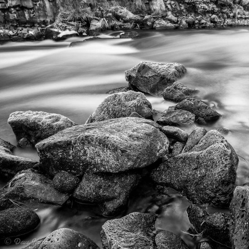 Rocks Below Dillon Falls