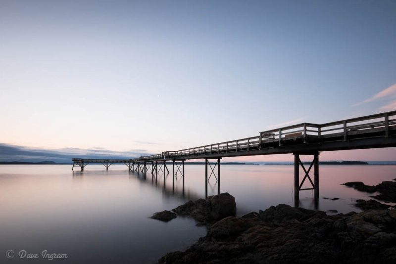 Sidney Pier Sunrise