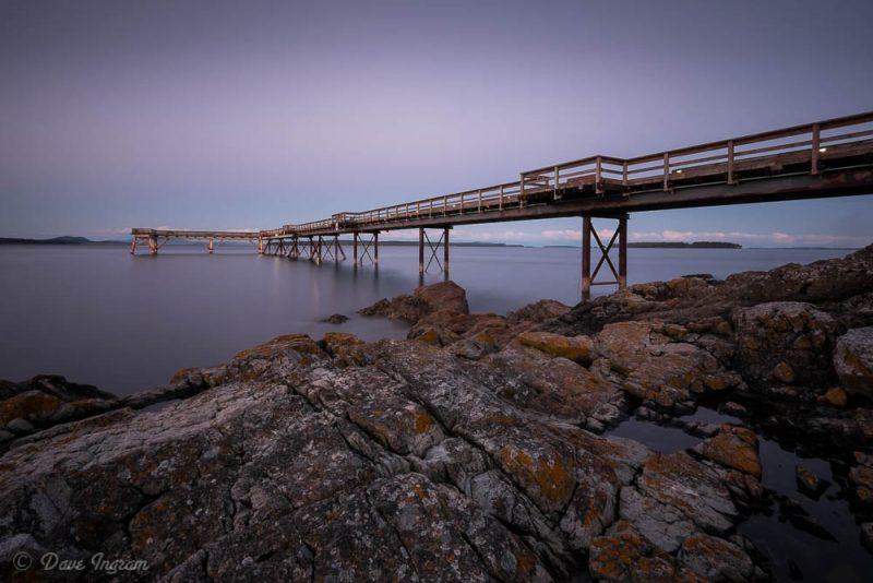 Sidney Pier Sunset